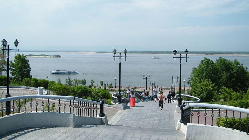 Амур в Хабаровске