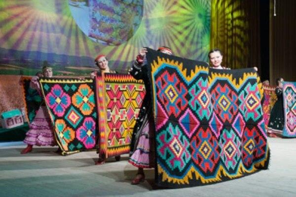 Башкирские ковры